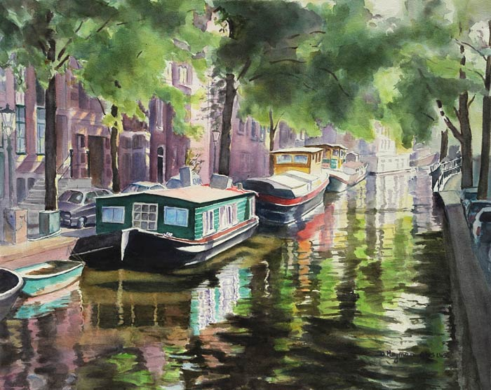 #5, Amsterdam House Boats  - SOLD