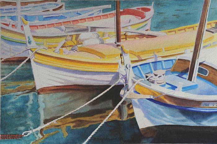 #1, Boats I  - SOLD