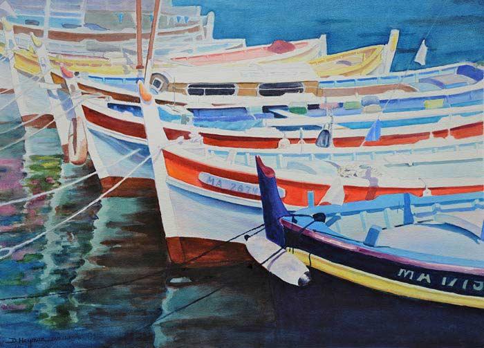 #3, Boats III - SOLD