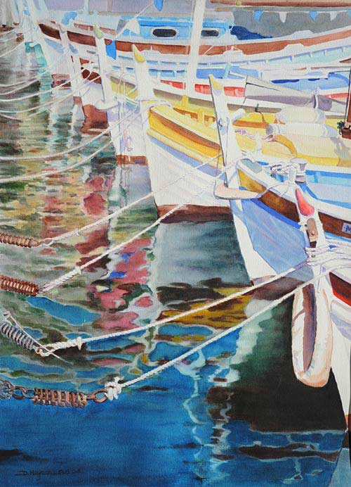 #4, Boats IV - SOLD