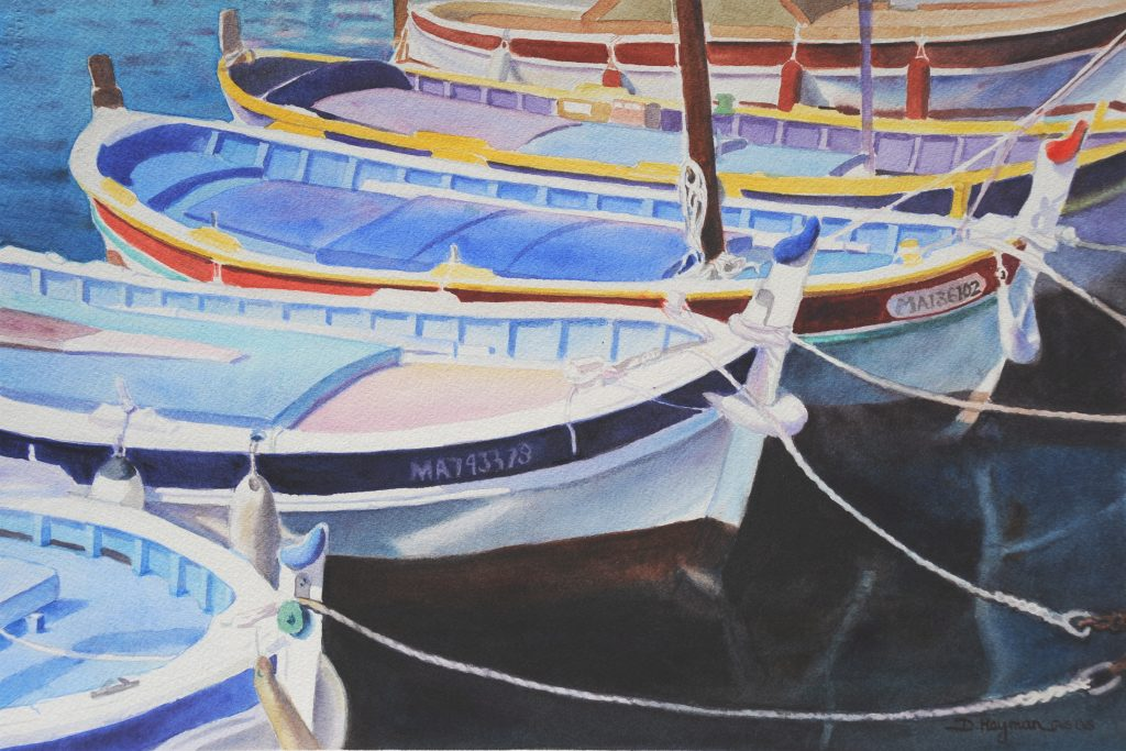 Boats in Cassis II