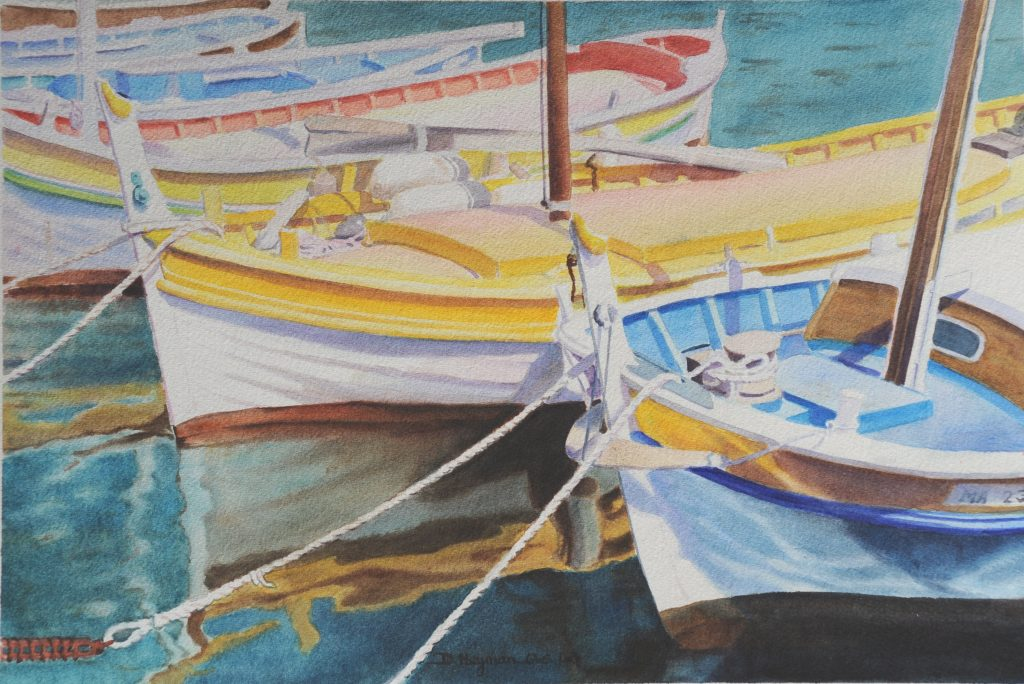 Boats in Cassis I