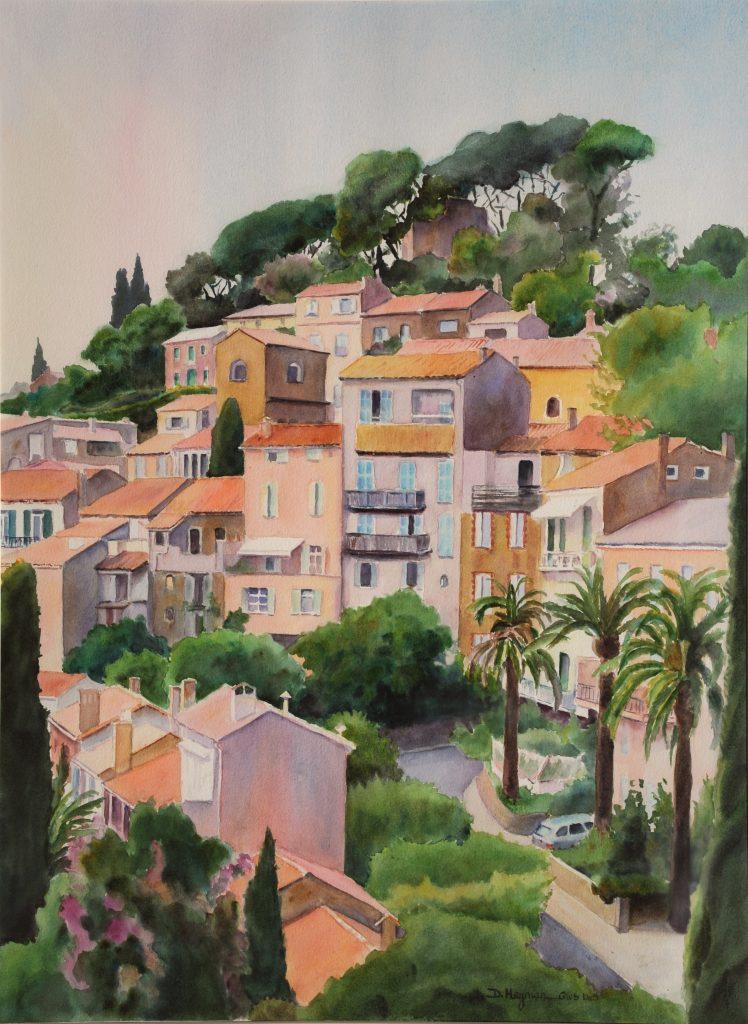#8 Bormes les Mimosas  - framed
