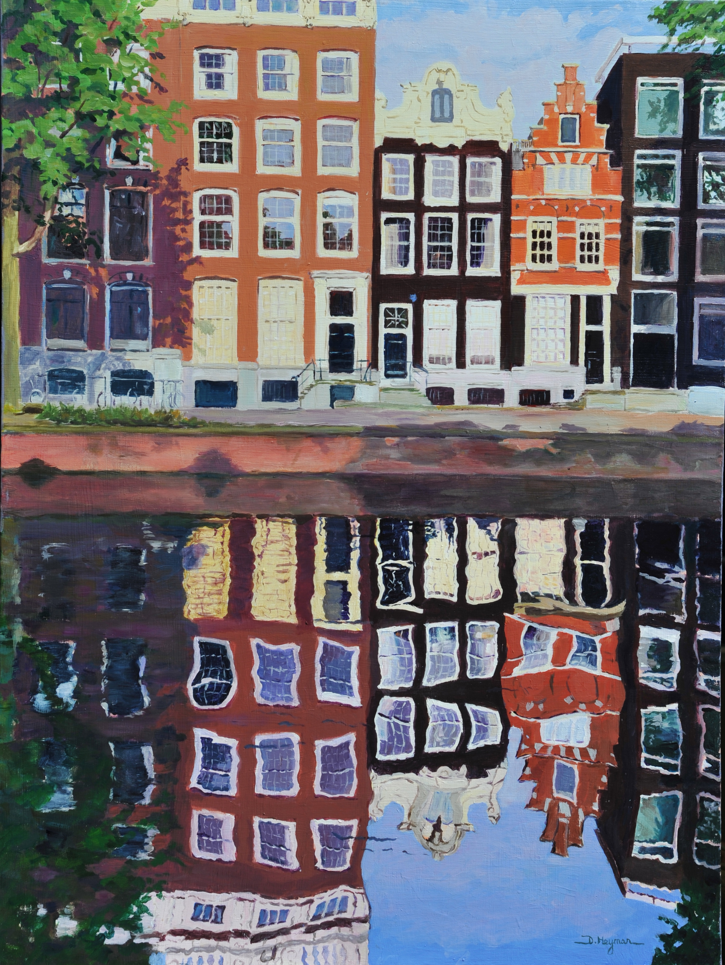 # 8, Early Morning in Amsterdam