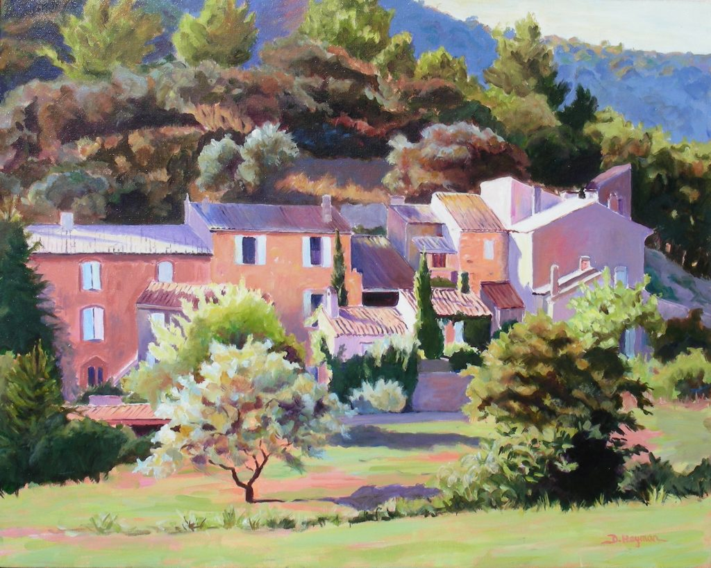 #1 , Burgundy Village