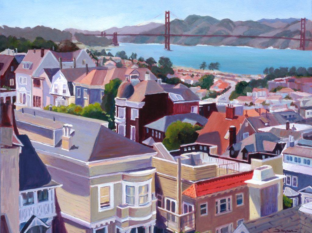 #10, Golden Gate Bridge View