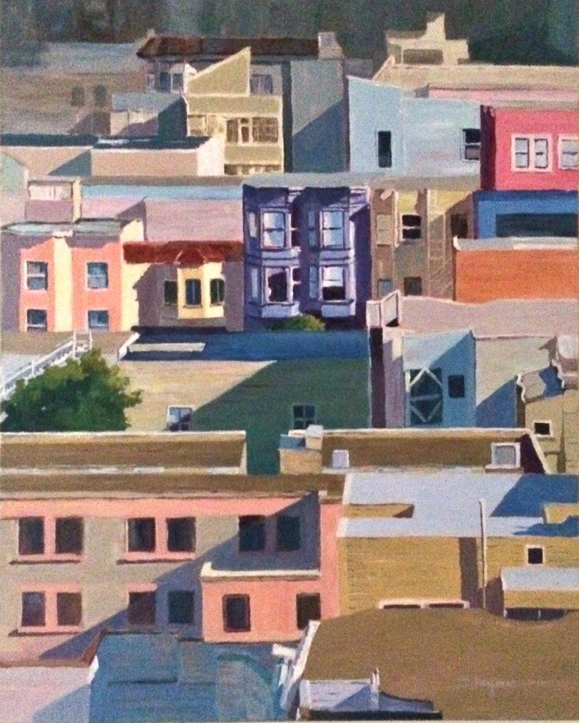 # 7, City Scape II, San Francisco