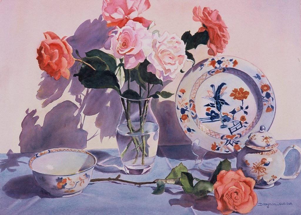 Roses and Imari