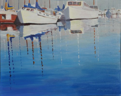 Harbor Reflections V