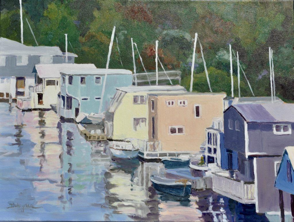 # 8, San Francisco House Boats