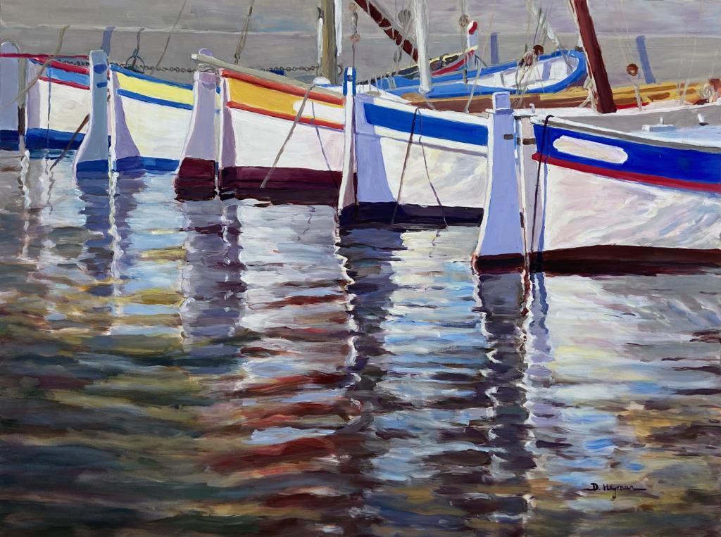#1 Harbor Reflections VII